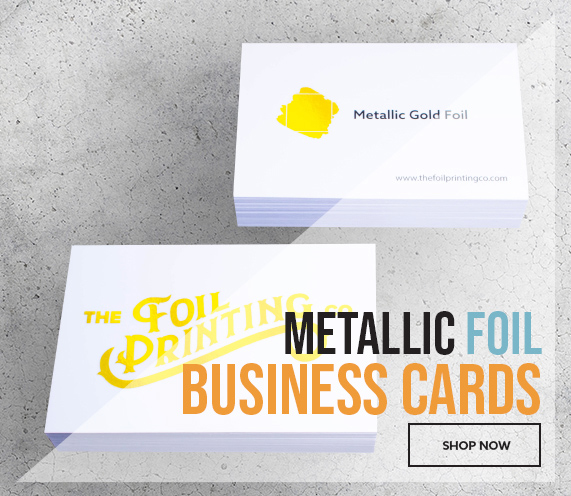 Metallic Foil Business Card Printing