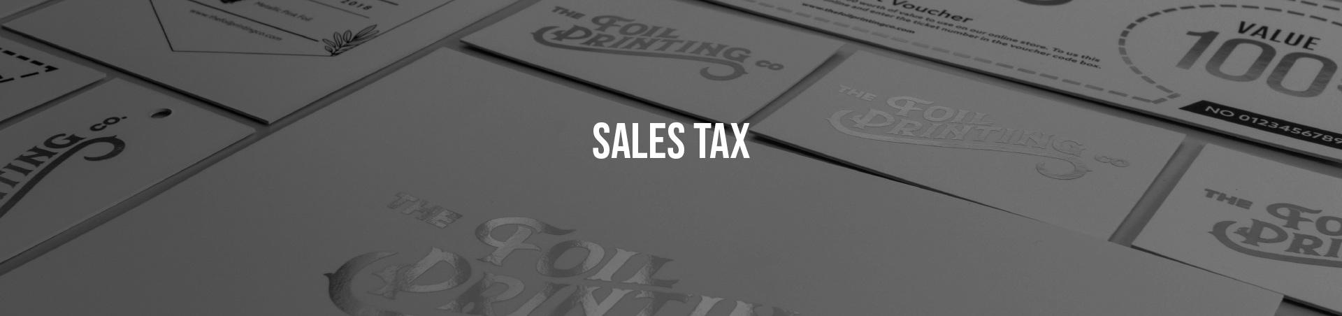 Sales Tax Banner