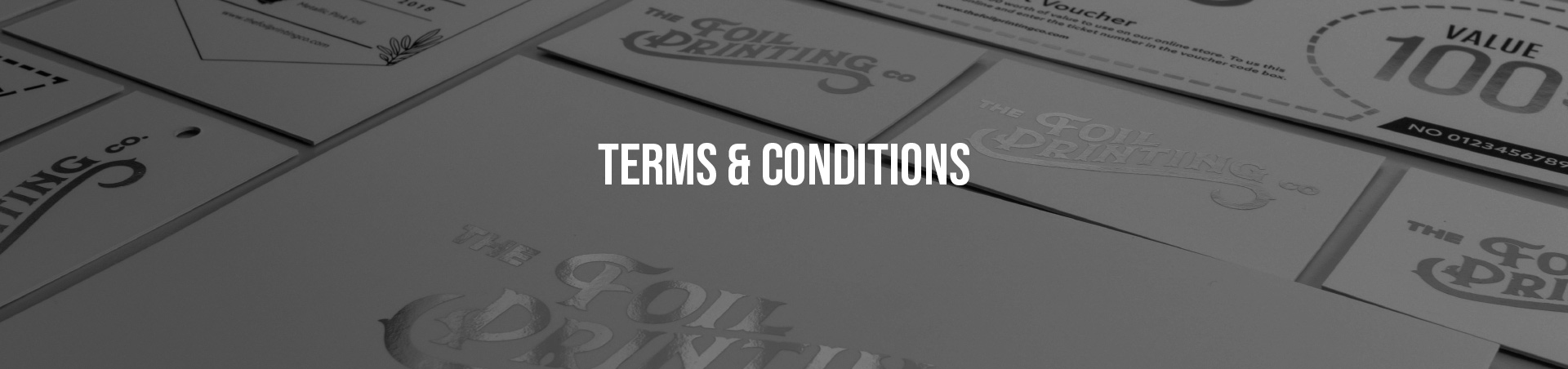 Terms & Conditions Banner